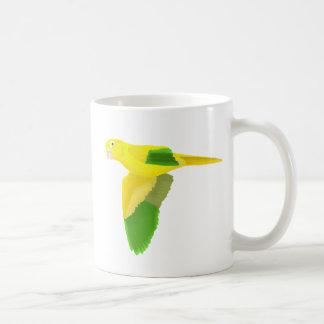 Golden Conure Coffee Mug