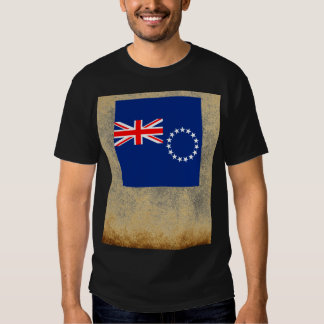 Golden Cook Islands Flag Tees