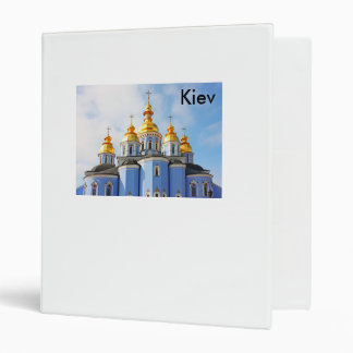 Golden copes of in cathedral in Kiev 3 Ring Binder