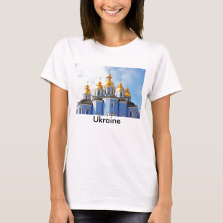Golden copes of in cathedral in Kiev T-Shirt