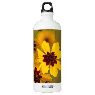 Golden Coreopsis tinctoria Wildflowers SIGG Traveler 1.0L Water Bottle