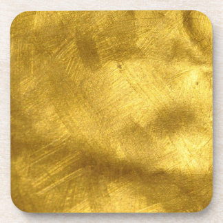 Golden Cork Coaster