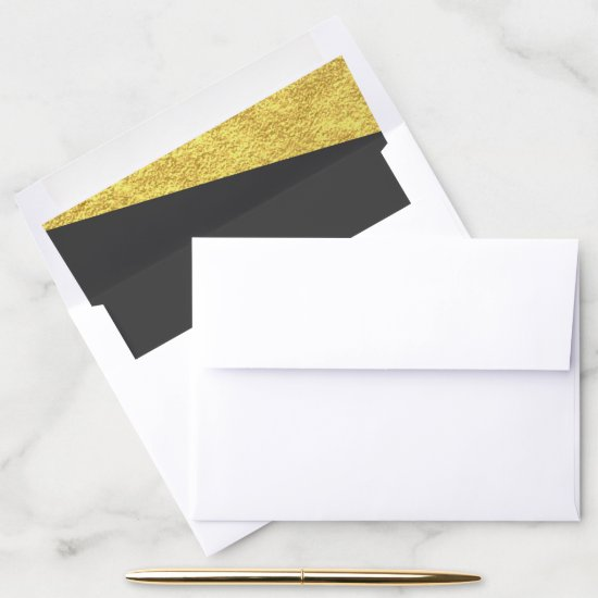 Golden Corners | Envelope Liner
