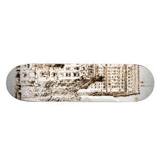 Golden Cornice 1904 Skateboard