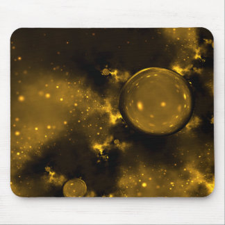 Golden Cosmos Mouse Pad