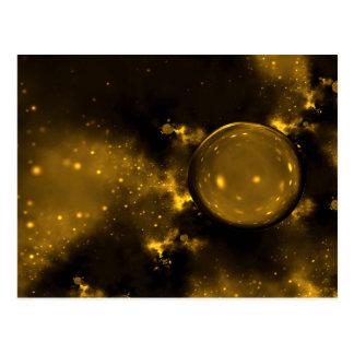 Golden Cosmos Postcard
