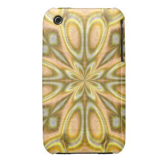 Golden Crazy Daisy iPhone 3 Case