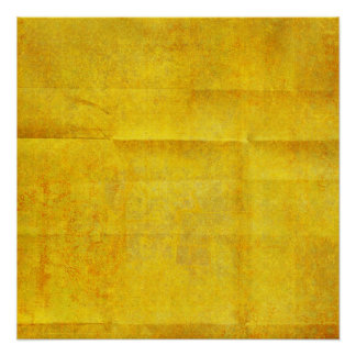 Golden Creased Background Poster