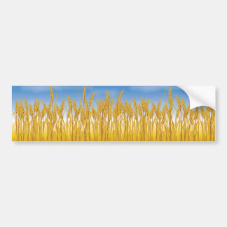 Golden Crop Bumper Sticker