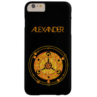 Golden Crop Circle Paranormal UFO Art Barely There iPhone 6 Plus Case