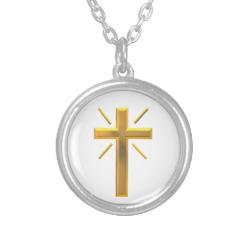 Golden Cross 4 Necklaces