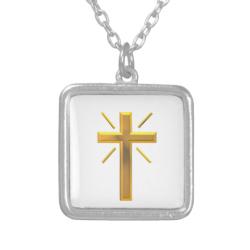 Golden Cross 4 Pendants