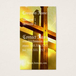 Golden Cross Business Card