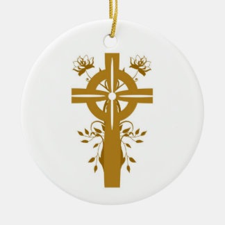 Golden Cross First Holy Communion Ornament Favor