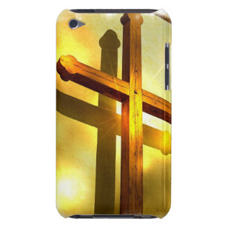 Golden Cross iTouch Case Barely There iPod Cases