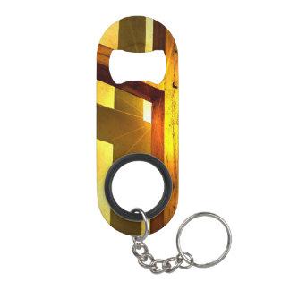 Golden Cross Keychain Bottle Opener
