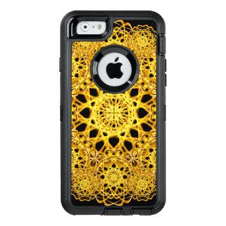 Golden Cross Mandala OtterBox Defender iPhone Case