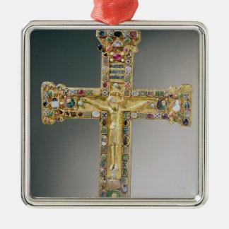 Golden cross of Essen Metal Ornament
