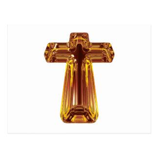 Golden Cross Postcard