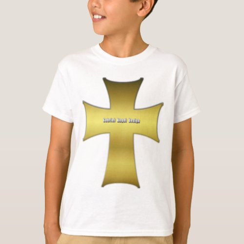 Golden Cross T_Shirt