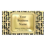 Golden Crosses Double-Sided Standard Business Cards (Pack Of 100)