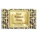 Golden Crosses Business Card Templates