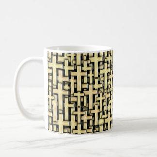 Golden Crosses Coffee Mug