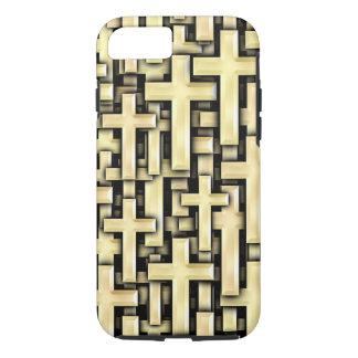 Golden Crosses iPhone 7 Case