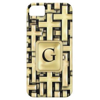 Golden Crosses iPhone SE/5/5s Case