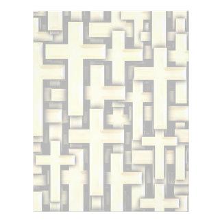 Golden Crosses Letterhead