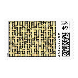 Golden Crosses Stamp
