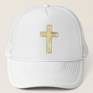 Golden Crosses Trucker Hat