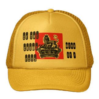 Golden Crown by Kay Loven Trucker Hat