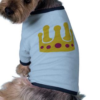 Golden crown dog clothes