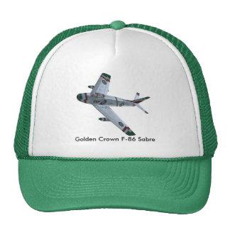 Golden Crown F-86 Sabre Hat