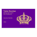 Golden Crown III Double-Sided Standard Business Cards (Pack Of 100)