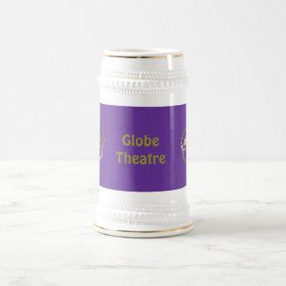 Golden crown mug -Globe theatre