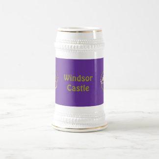 Golden crown mug -Windsor Castle