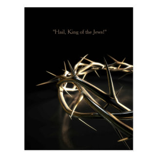 Golden Crown Of Thorns Postcard