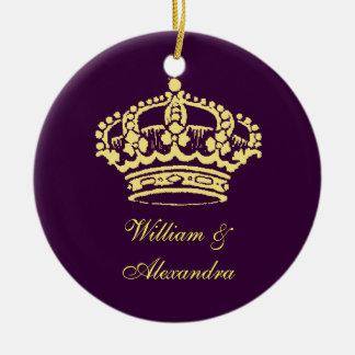 Golden Crown Ornament