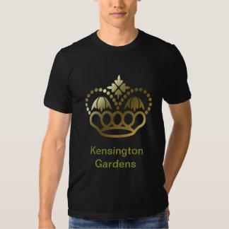 Golden crown Tee SHirt - Kensington Gardens