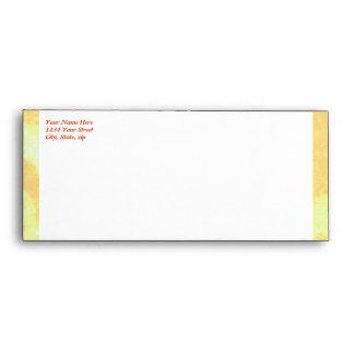 Golden Crown WEDDING #10 envelope