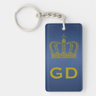 Golden Crown + your ideas Acrylic Keychains