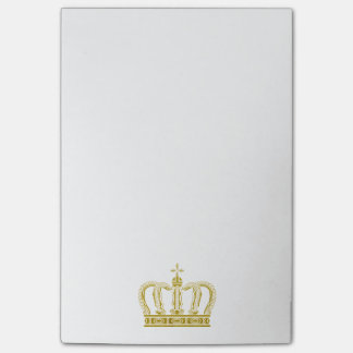 Golden Crown + your ideas Post-it Notes