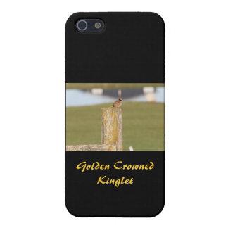 Golden Crowned Kinglet Bird Backyard Birds2 Cover For iPhone SE/5/5s