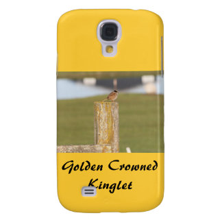 Golden Crowned Kinglet Bird Backyard BirdsBi Samsung Galaxy S4 Case