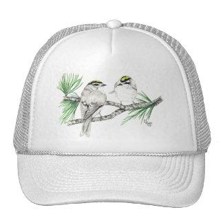 Golden Crowned Kinglet Hat