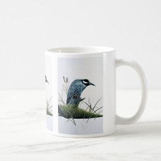 Golden-crowned night heron coffee mug