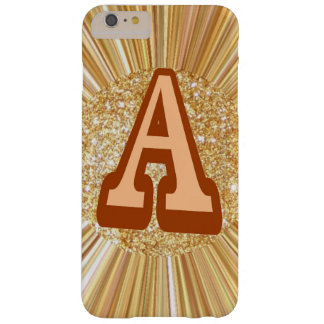 golden crush art with name barely there iPhone 6 plus case