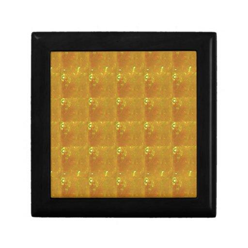 Golden CRYSTAL 2000X Magnification HealingSTONE Trinket Box